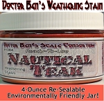 Nautical Teak Weathering Stain-4oz Doctor Ben's Scale Consortium
