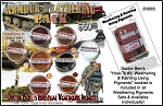 8-COLOR ARMOR Industrial Weathering Pigment & Paint Set & Booklet #3-Doctor Ben's